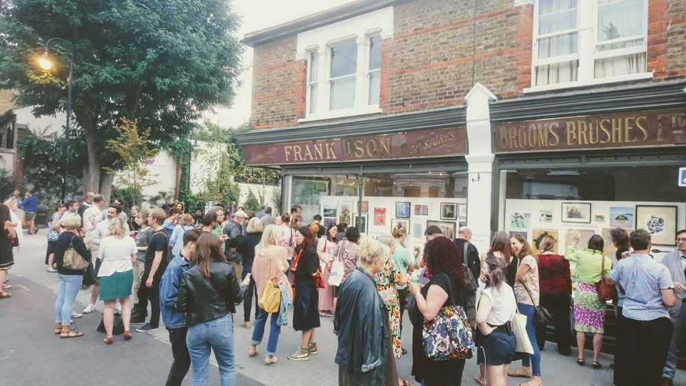 A great crowd turned out to mark and enjoy the opening night of the Summer Show 2018