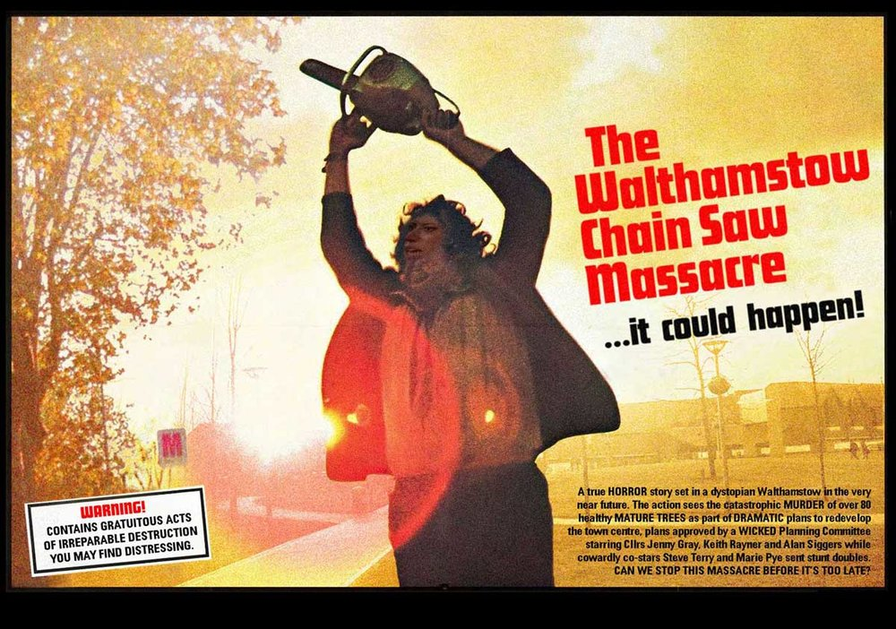 © Danny Coope 'The Walthamstow Chain Saw Massacre'