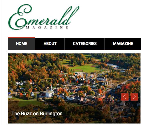 emerald magazine screen shot