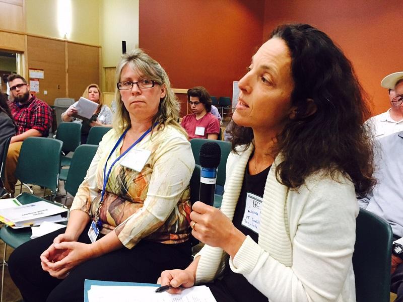 Laura Subin, VT Coalition to Regulate Marijuana | Photo credit Charlotte Albright, VPR