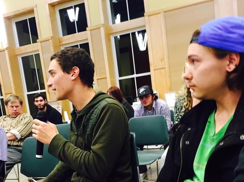 Alex Vollano, LSC Student | Photo credit Charlotte Albright VPR
