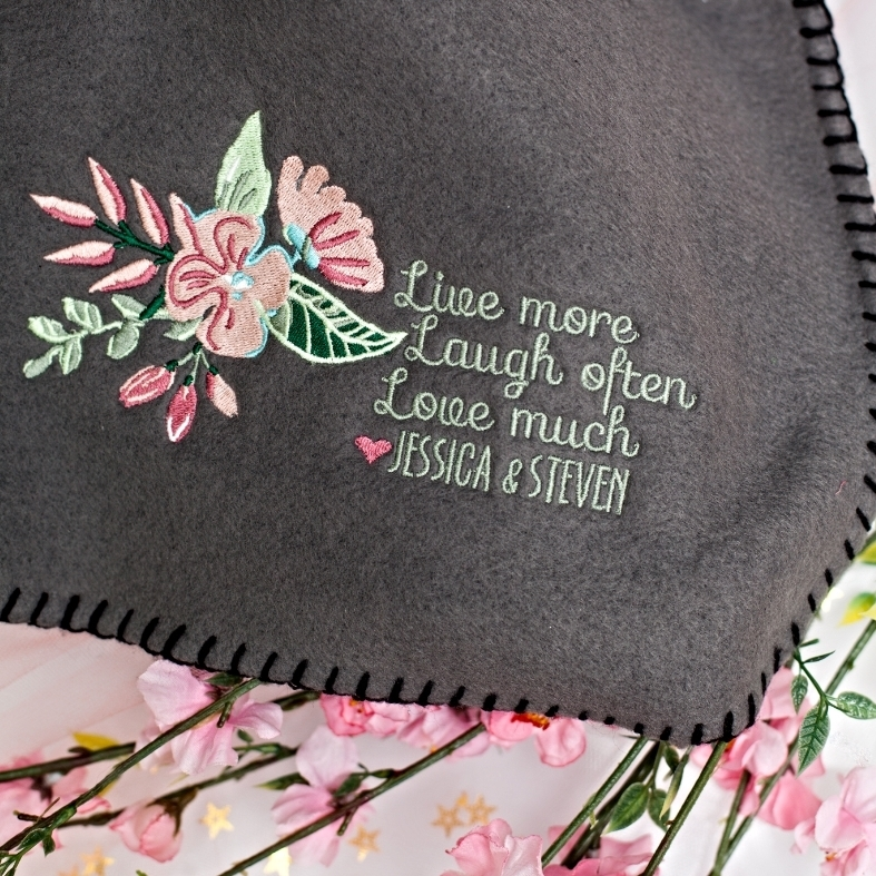 Personalized Blanket @www.thedetaileddiva.com.jpg
