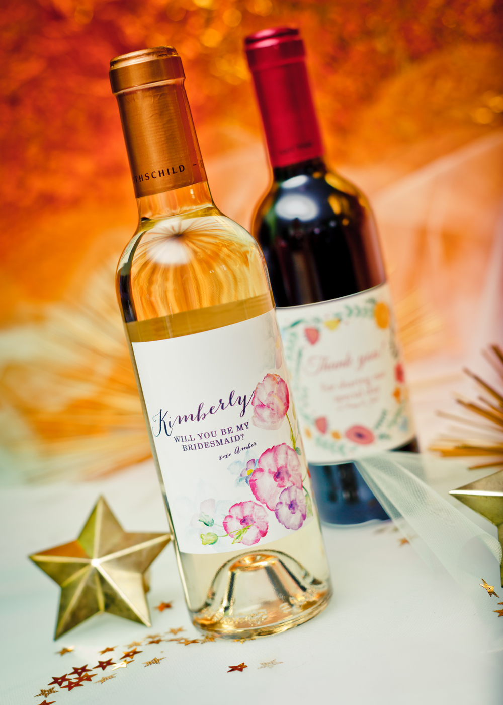 Personalized Wine Bottles @www.thedetaileddiva.com.jpg