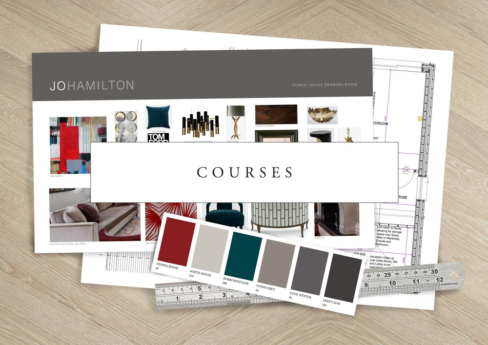 Courses | High-end London interior designer Jo Hamilton