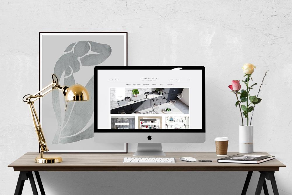 Interior design masterclass by high-end London interior designer Jo Hamilton