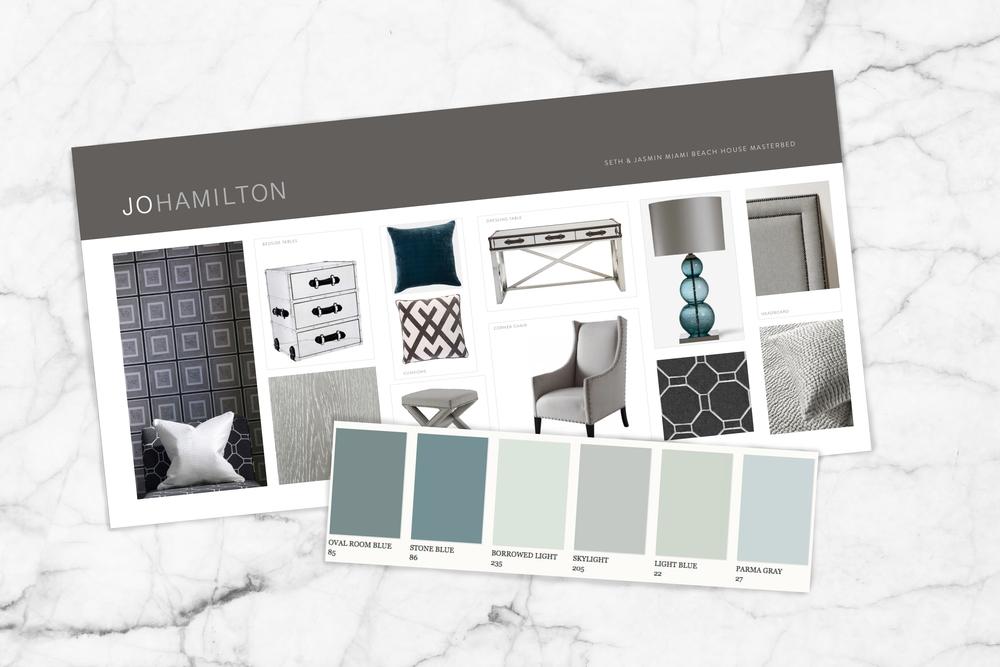 Interior design courses by high-end London interior designer Jo Hamilton