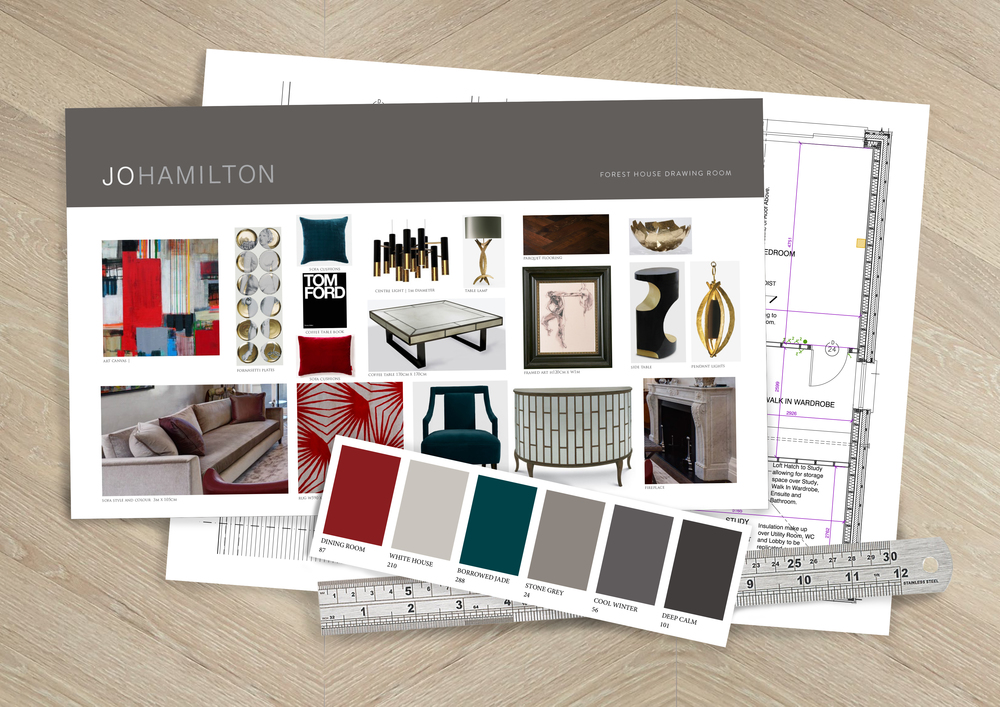 Interior Design Course By High End London Designer Jo Hamilton
