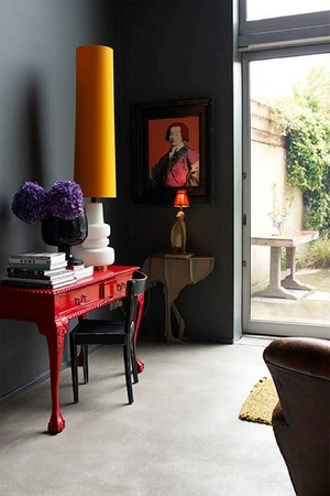 Multiple colour bursts adding to luxury interior design
