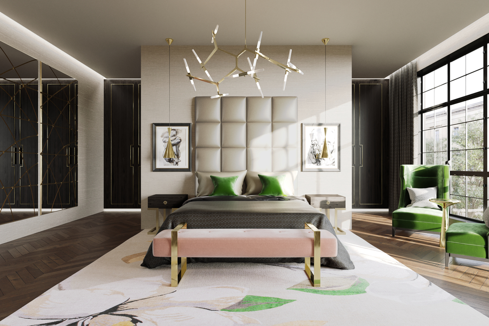 Jo Hamilton Interiors - Mayfair bedroom light