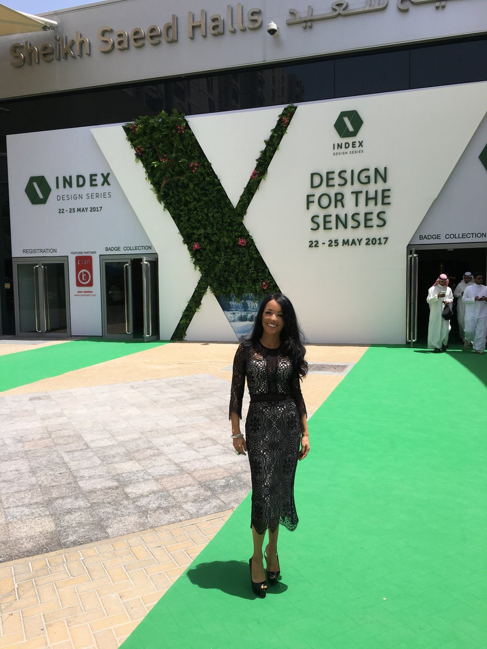 High-end interior designer Jo Hamilton at Index Dubai