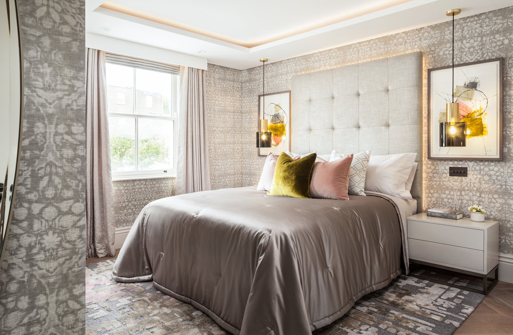 Jo Hamilton Interiors - Kensington bedroom