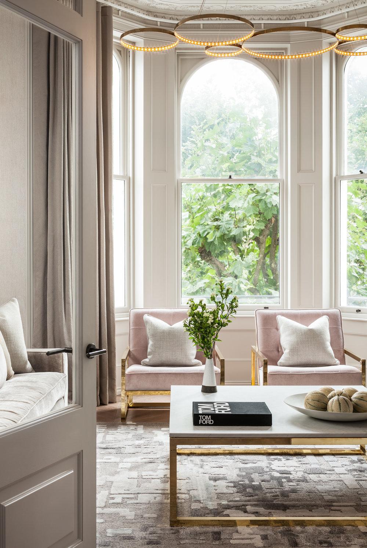 Jo Hamilton Interiors - Kensington lounge