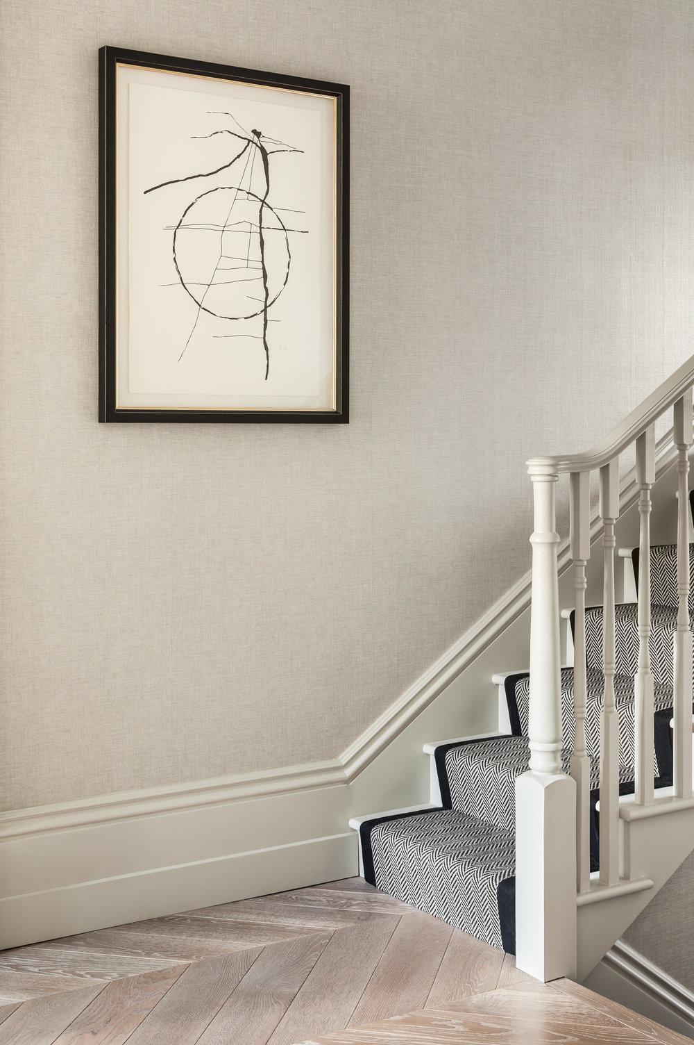 Jo Hamilton Interiors - Kensington stairs