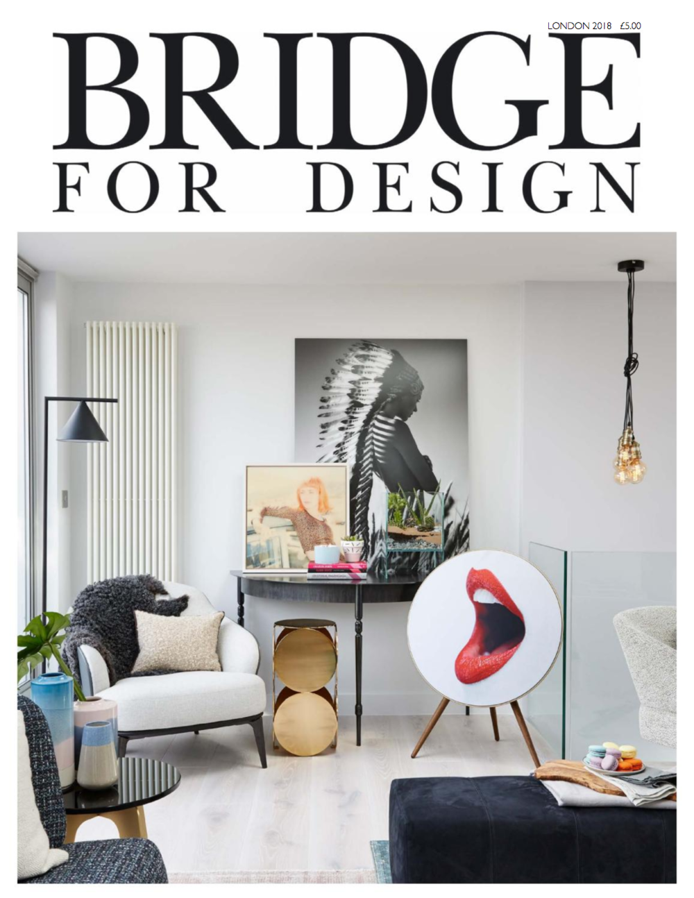 Interior designer Jo Hamilton Bridge for Design p1