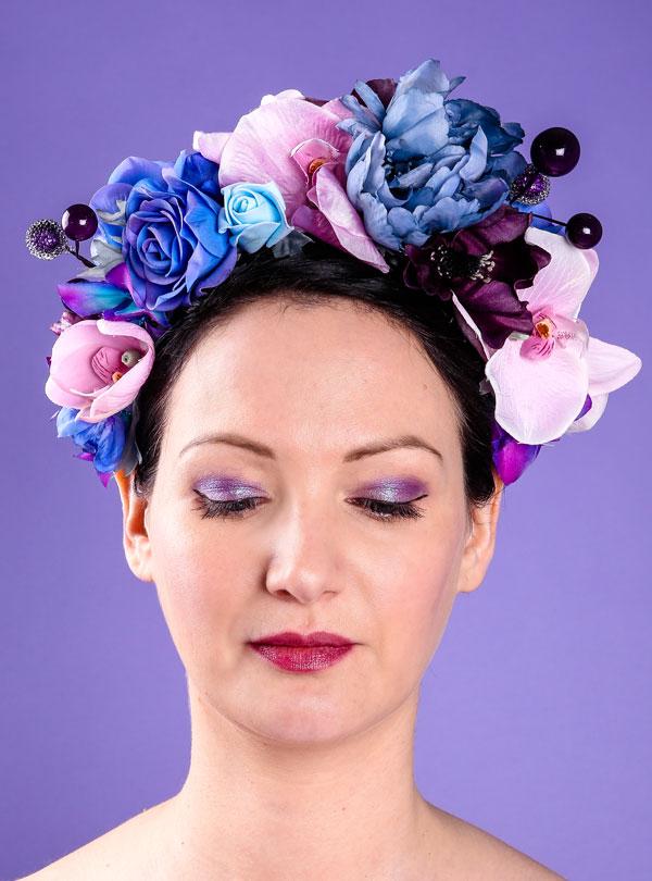 Anna Dominoes Millinery — Flower hats  780e0c12e89