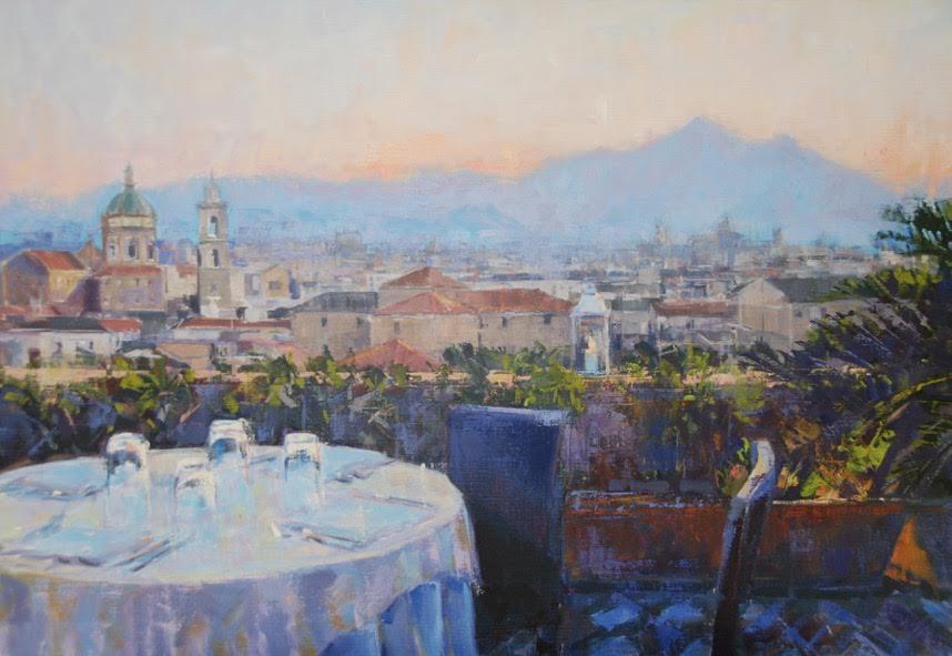 Dinner in Palermo