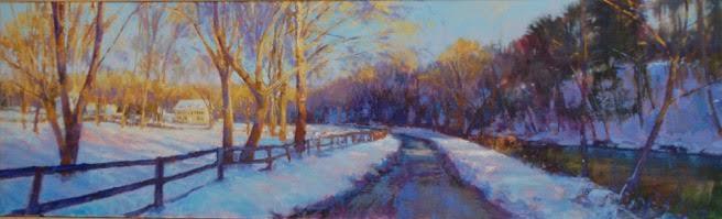 Matthews Road in Winter
