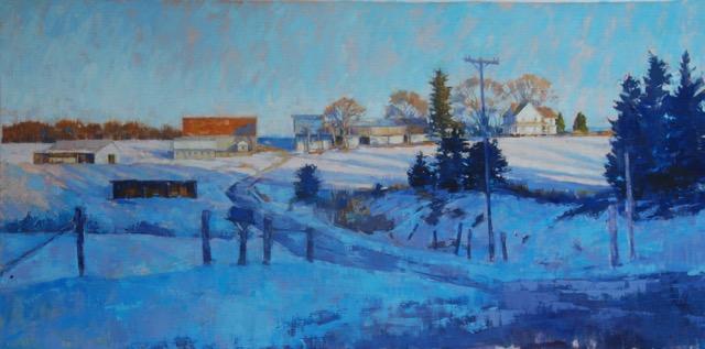 Whitehall Farm in Winter