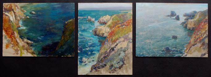 Garrapata Triptych