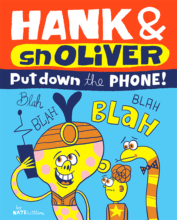 Hank and snOliVER in Put Down the Phone!