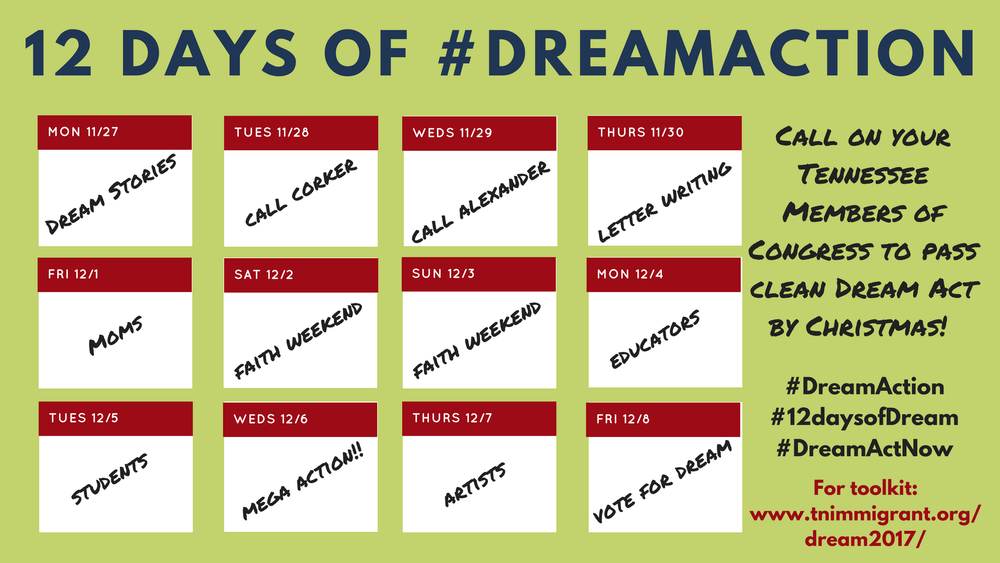 days of dream action calendar.png