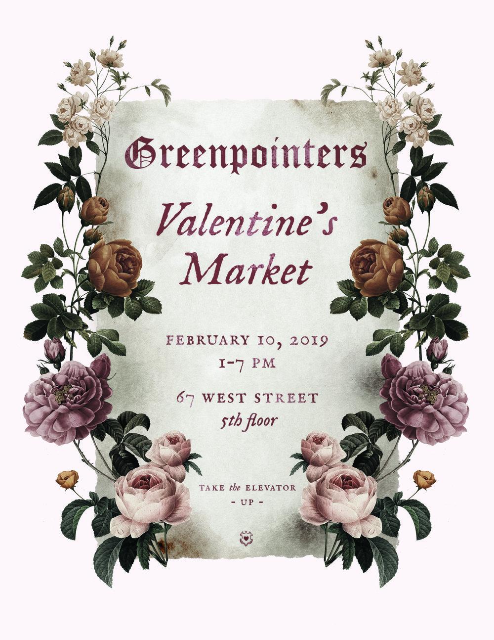 Greenpointers Valentines Market