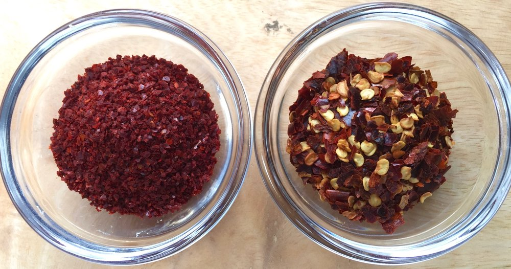 Allepo pepper  & Red pepper flakes