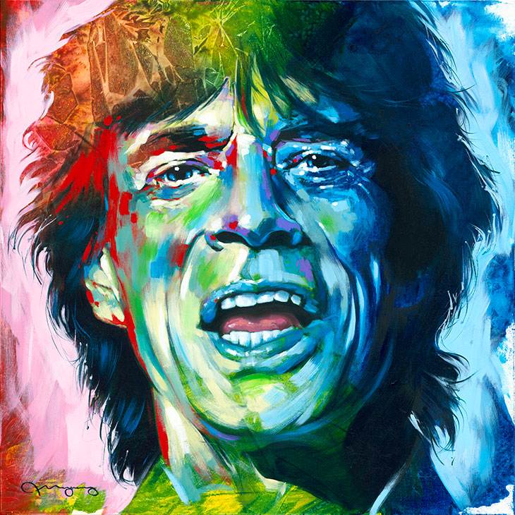 "Mick36"" x 36"" acrylic on canvas25% OFF -"