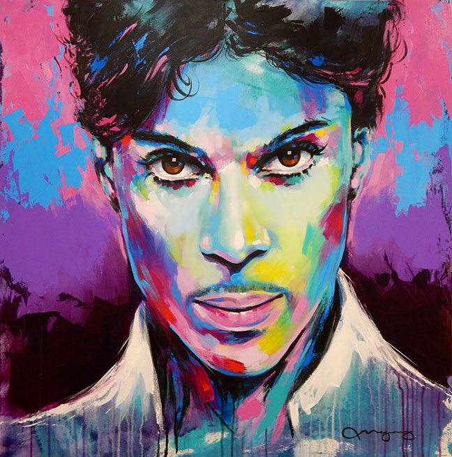 "Prince36"" x 36"" acrylic on canvas25% OFF -"