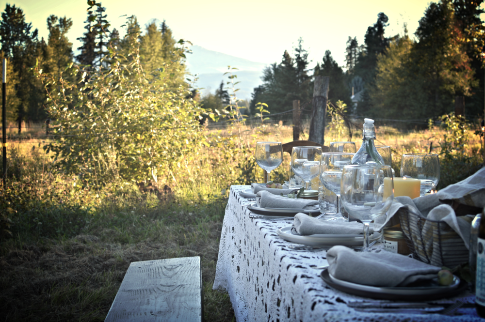Brings dinner with a view and farm to table to a whole new level