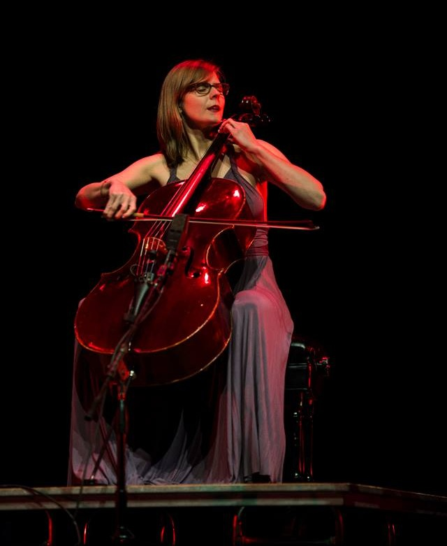 Me and the Ozaki cello getting into the groove at the Performing Arts Exchange Juried Showcase in Atlanta, GA