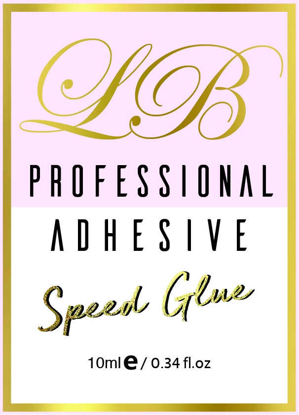 PROFESSIONAL GLUE     < 1 second curing time  Professional use only for experienced Volume Lash Technicians