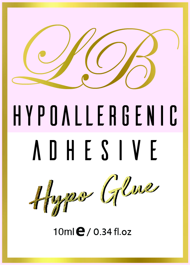 HYPOALLERGENIC GLUE    < 20 second curing time  Professional use for those clients that are allergic to lash glues