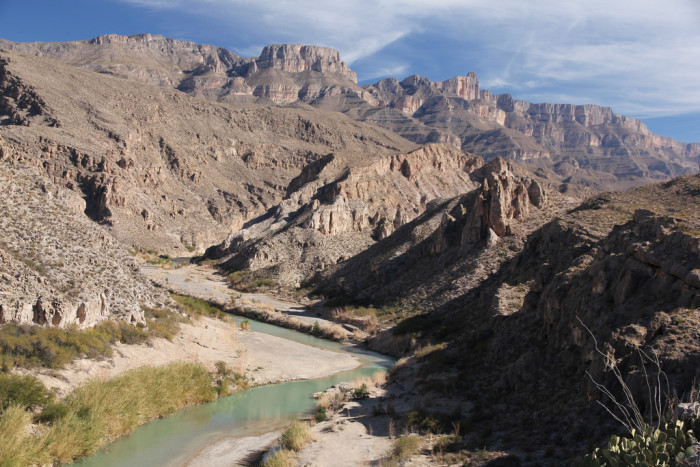 Marufo Vega Trail at Big Bend National Park