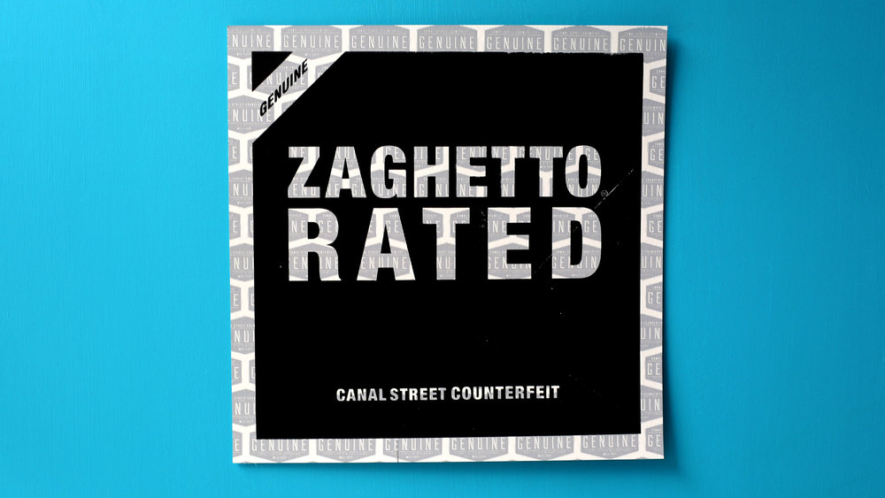 Zaghetto Rated (black/light grey)