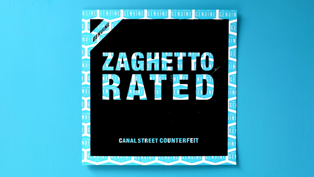 Zaghetto Rated (black/aqua blue)