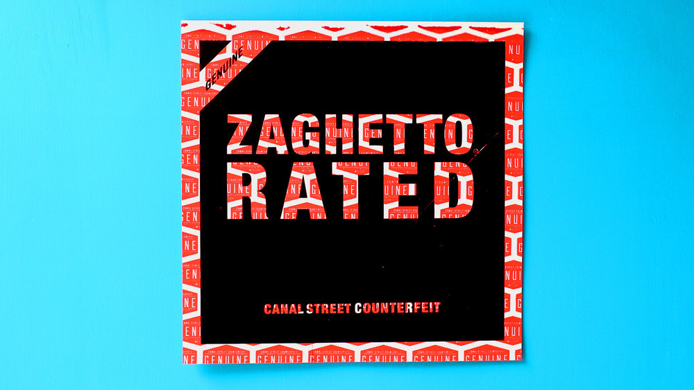 Zaghetto Rated (black/infrared)