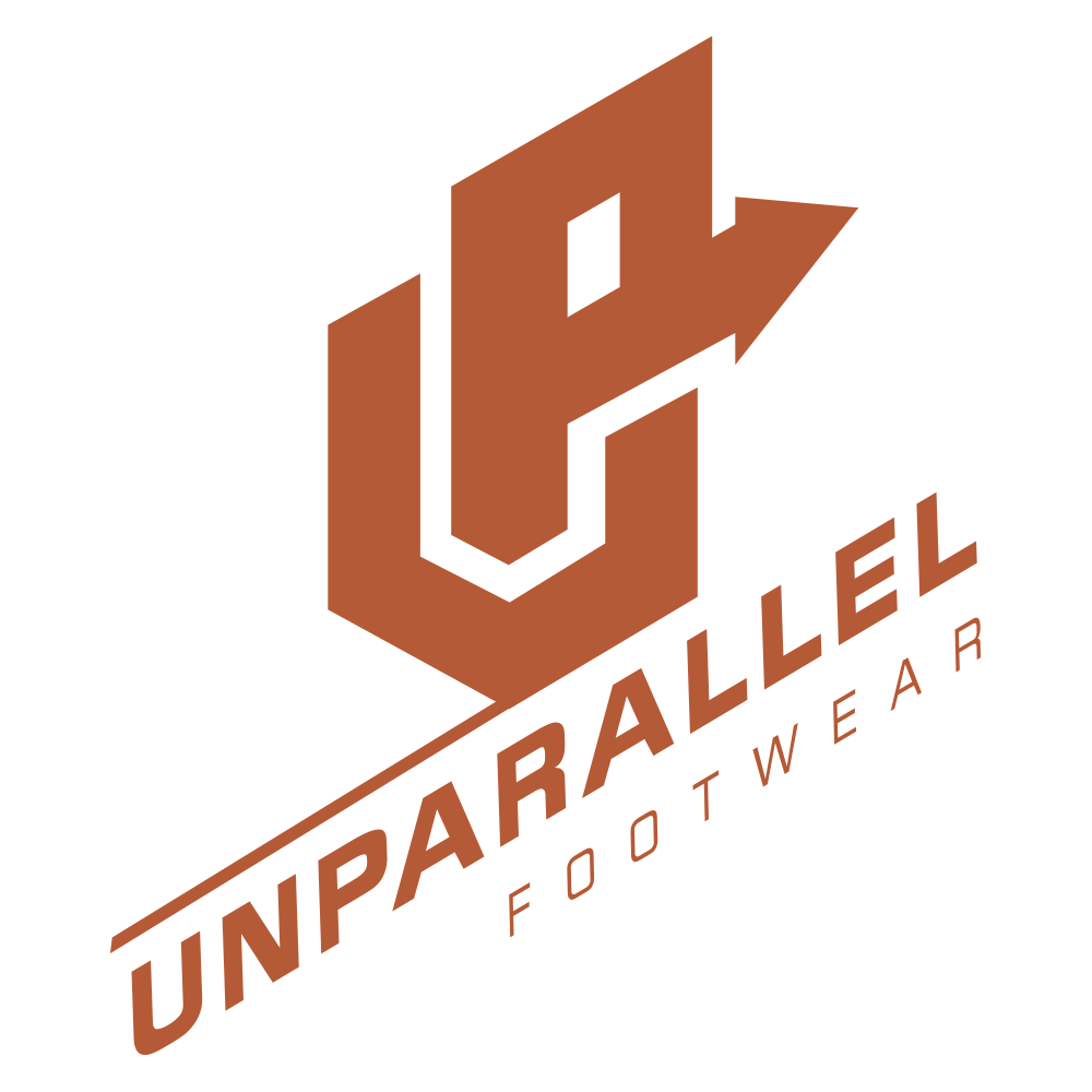 UNPARALLEL   With over 20 years of shoes manufacturing experience, Unparallel (UP) are makers of MTB, commuter and climbing shoes for those who love the outdoors. UP footwear is equipped with high friction rubber compound and designed for better performance. UP is fully engineered and processed in California.