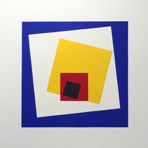 Homage^2 to the square - 100 x 100 cm