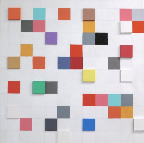 Serie Sincronía - 60 x 60 cm