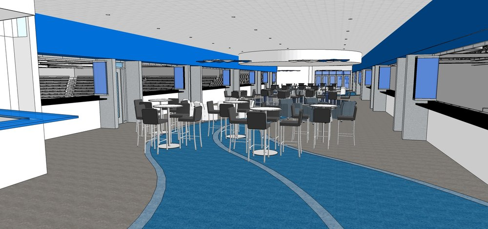 FALCON'S NEST VIP AREA CONCEPT - United States Air Force Academy, CO