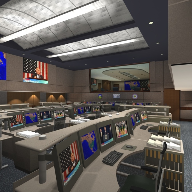 CHEYENNE MOUNTAIN INTEGRATED COMMAND CENTER - Cheyenne Mountain Air Force Station, CO