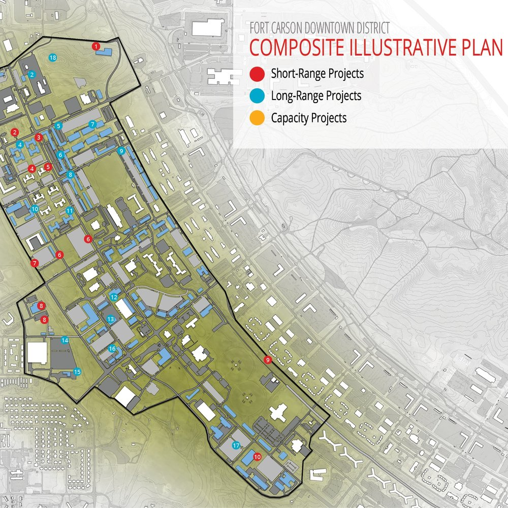 VISION PLANS, INSTALLATION PLANNING STANDARDS, & AREA DEVELOPMENT PLANS - Fort Carson, CO