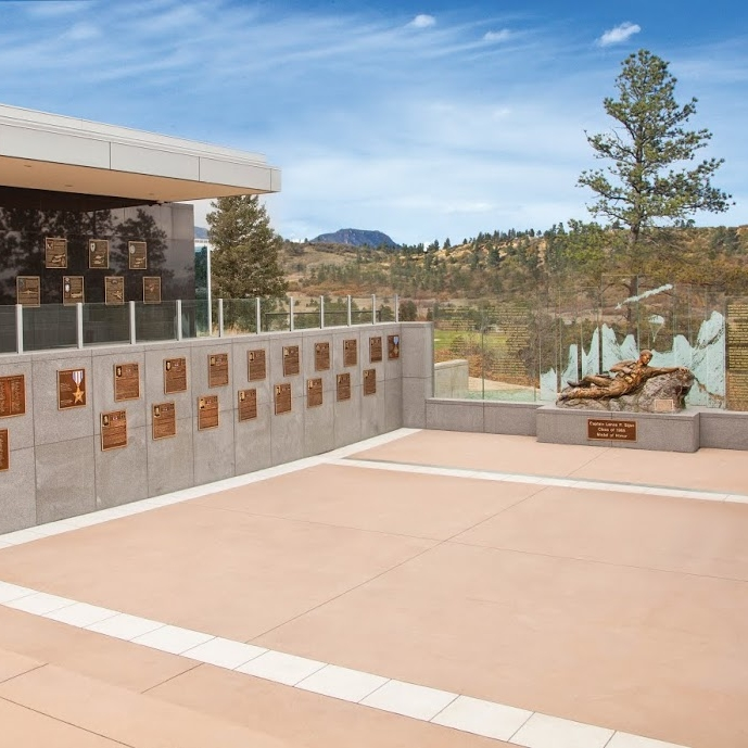 PLAZA OF HEROES - United States Air Force Academy, CO