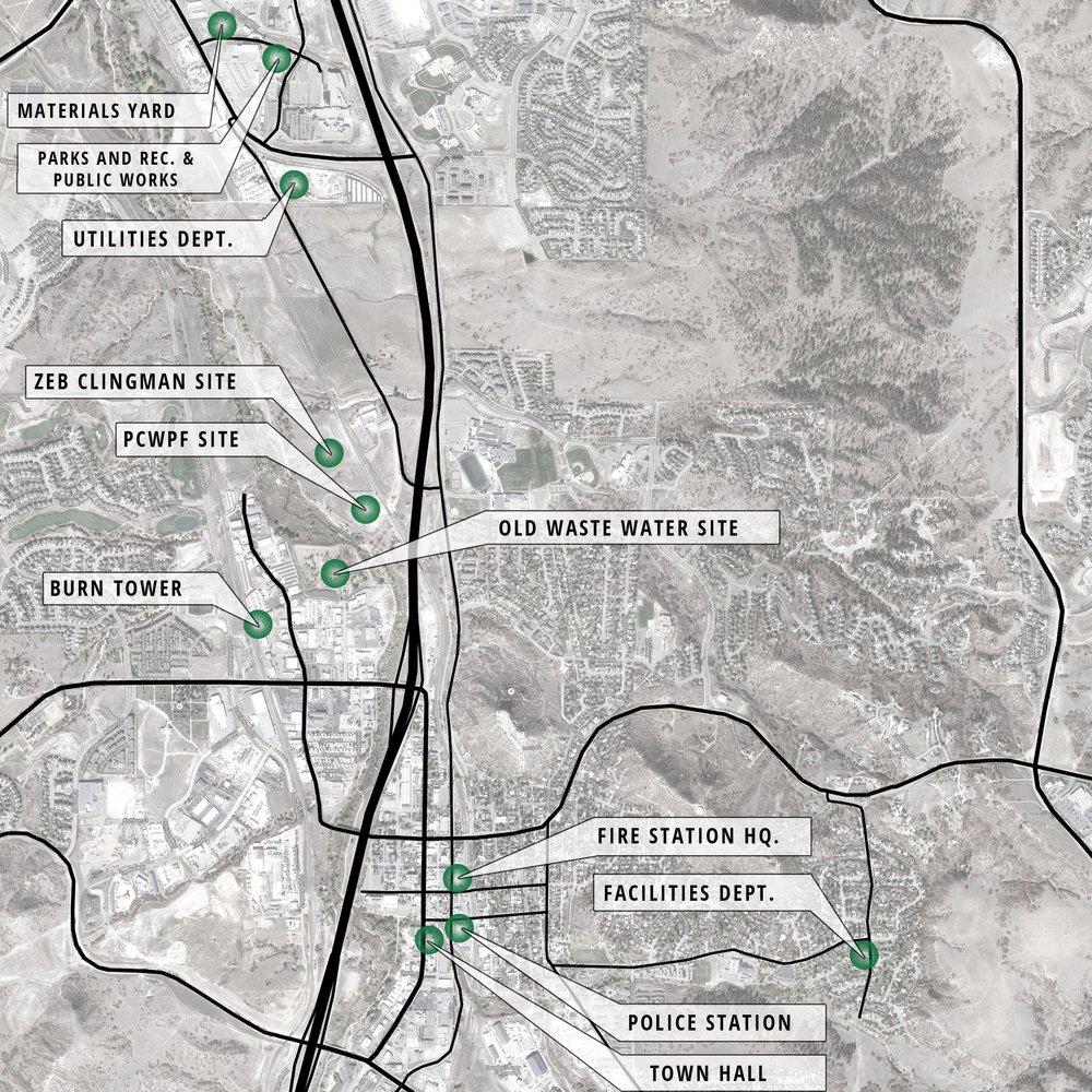 CASTLE ROCK FACILITIES SPACE PLANNING STUDY - Castle Rock, CO