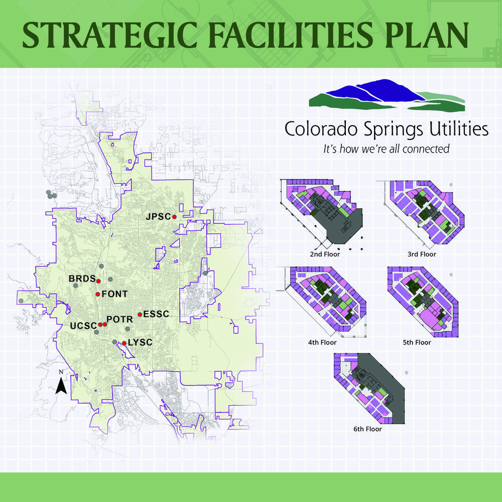 COLORADO SPRINGS UTILITIES STRATEGIC FACILITIES PLAN - Colorado Springs, CO