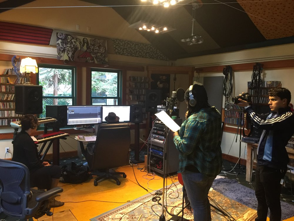 Joy Oladokun recording on Brady Wade Sessions