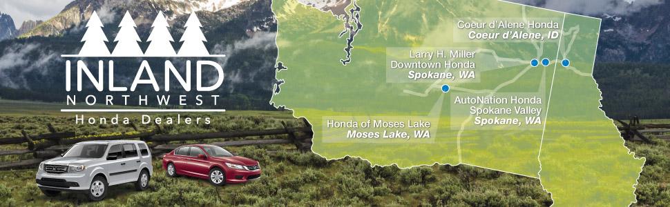 Inland Northwest Honda Dealers