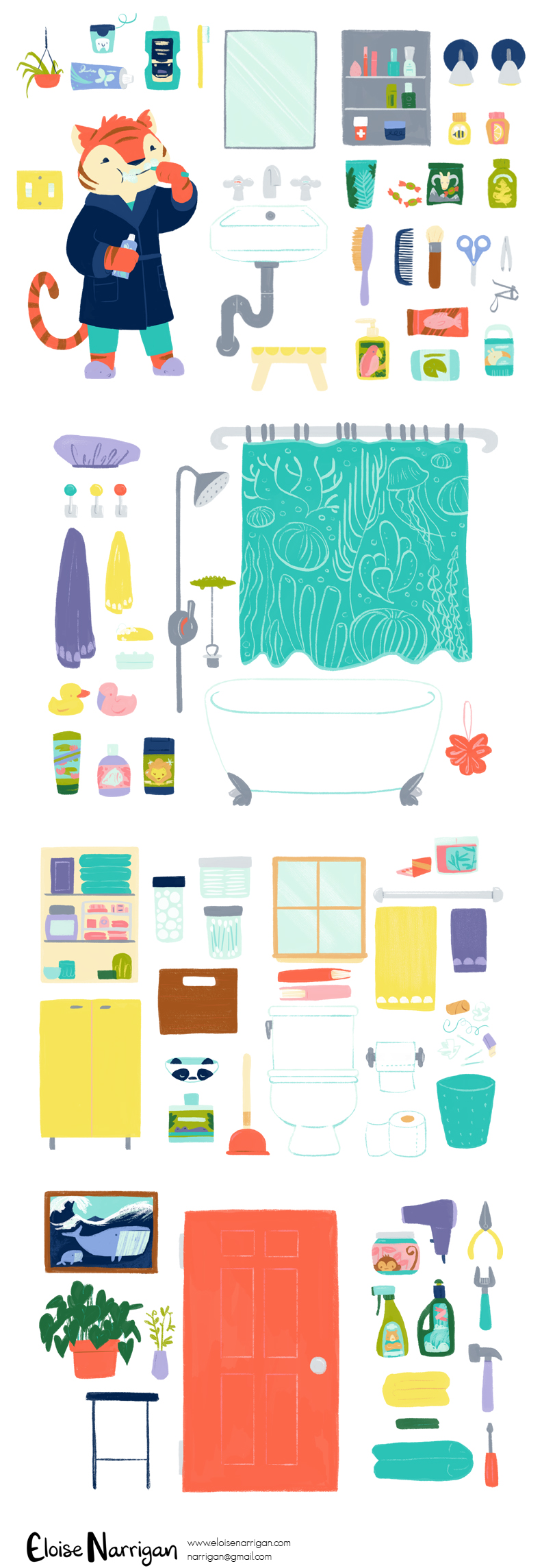 eloise narrigan_tigerbathroomitems.jpg