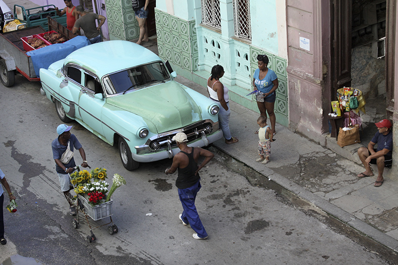 Street Scene in Havana by Camila Bernal, Summer 2016
